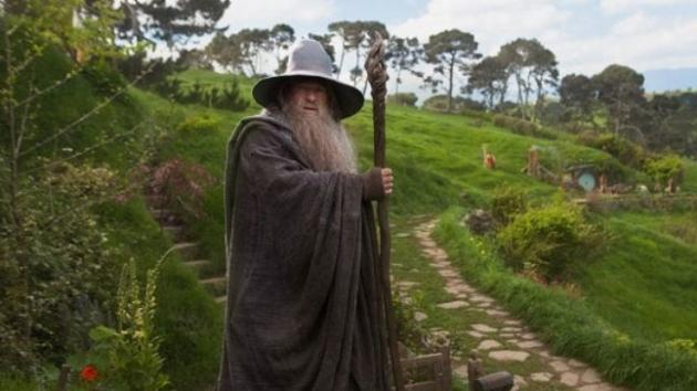 Ian McKellen as Gandolf in New Line Cinema's 'The Hobbit: An Unexpected Journey'  -- New Line Cinema