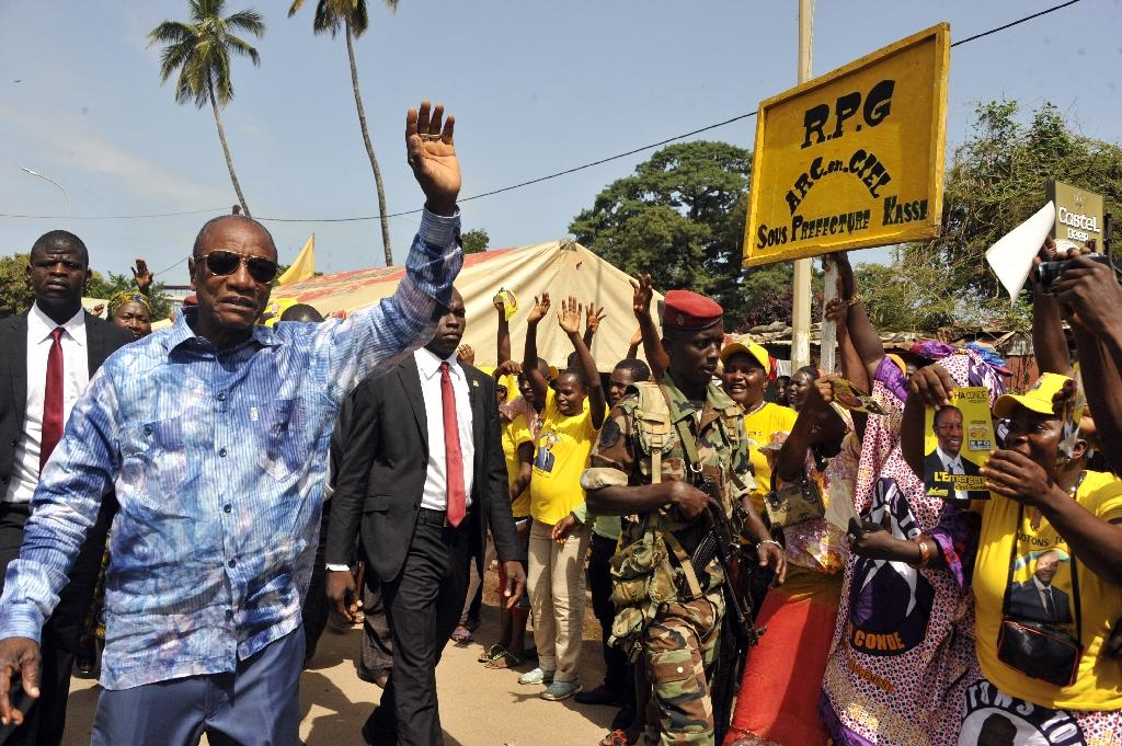 Clashes in Guinea ahead of Sunday's presidential vote