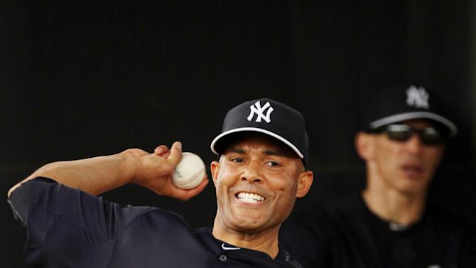 MLB: New York Yankees-Pitchers & Catchers