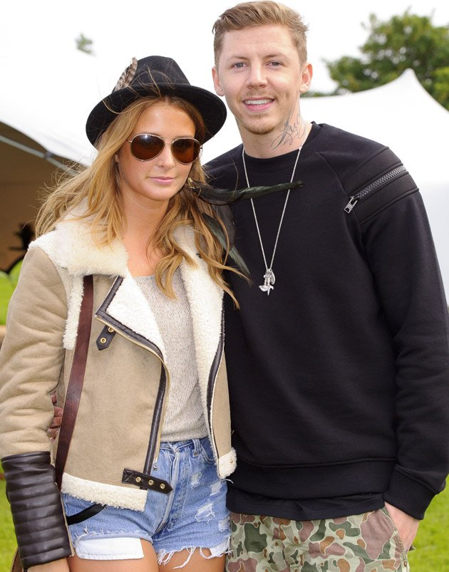 Millie Mackintosh, Professor Green
