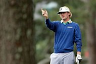 Visiting American Brandt Snedeker, pictured in April 2012, made the most of having to compete with just 10 clubs in handing Denmark&#39;s Thomas Bjorn a shock 5 and 4 defeat on day one of the World Match-Play Championship on Thursday