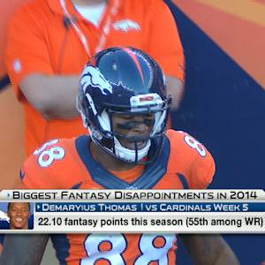 'NFL Fantasy Live': Biggest fantasy disappointments