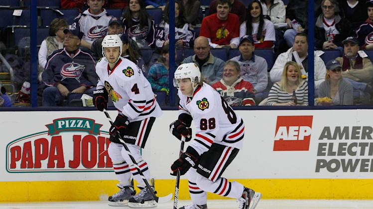 NHL: Chicago Blackhawks at Columbus Blue Jackets