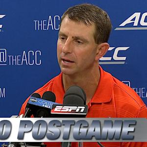 Clemson's Dabo Swinney Offers Perspective Following Loss to Florida State