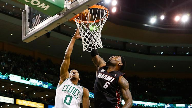 Miami Heat v Boston Celtics