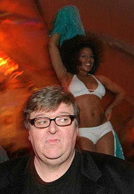 Michael Moore at the Los Angeles premiere of New Line Cinema's Semi-Pro
