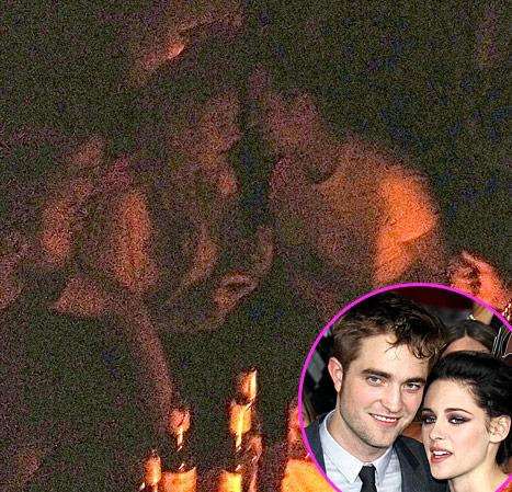 Robert Pattinson Chats With Mystery Blonde: What Really Happened