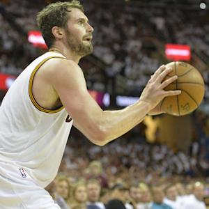 Cavs will miss Kevin Love vs. Warriors