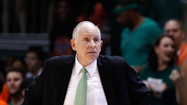 NCAA Basketball: Virginia at Miami