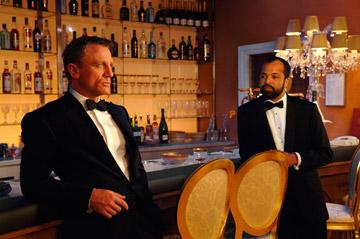 Daniel Craig as James Bond and Jeffrey Wright as Felix Leiter in MGM/Columbia Pictures' Casino Royale