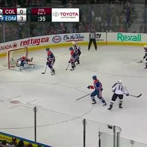 Ben Scrivens Save on Jarome Iginla (04:33/2nd)