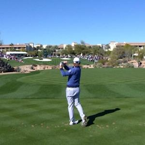 Brandt Snedeker's tee shot to 7 feet yields birdie at Waste Management