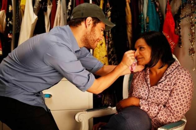 Adam Pally and Mindy Kaling in 'The Mindy Project' -- FOX