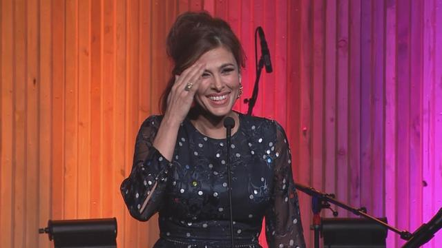 Eva Mendes Is Too Tired from Her Baby to Read a Teleprompter