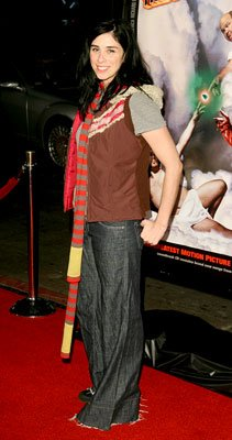 Sarah Silverman at the Hollywood premiere of New Line's Tenacious D in: The Pick of Destiny