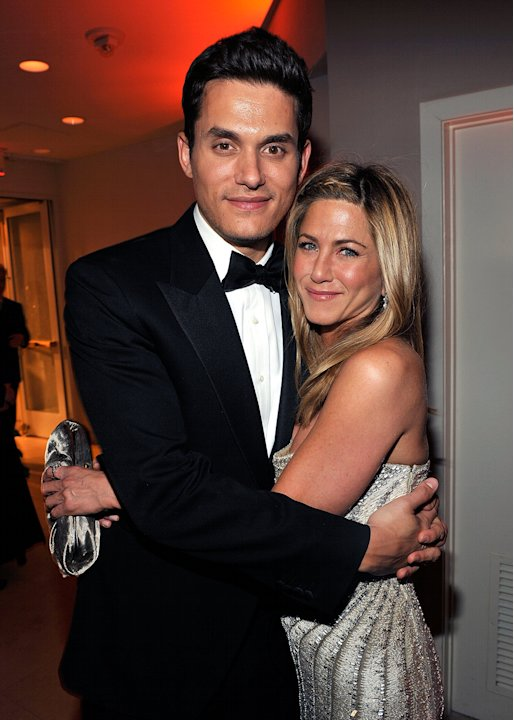 John Mayer and Jennifer Aniston