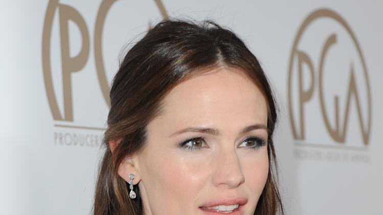 Jennifer Garner arrives at the 24th Annual Producers Guild (PGA) Awards at the Beverly Hilton Hotel on Saturday Jan. 26, 2013, in Beverly Hills, Calif. (Photo by Jordan Strauss/Invision for The Producers Guild/AP Images)