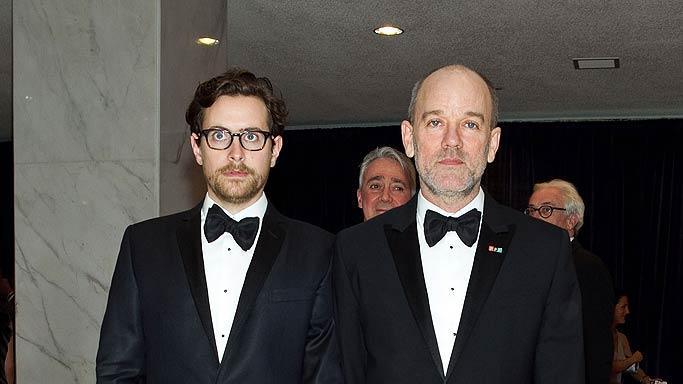 Michael Stipe White House Dnner