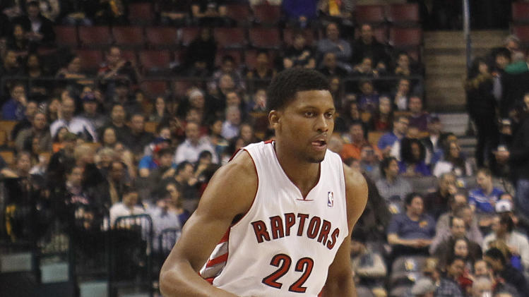 NBA: Charlotte Bobcats at Toronto Raptors