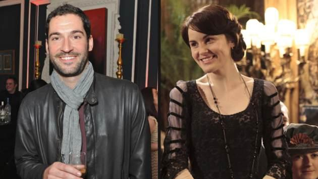 Tom Ellis, Michelle Dockery as Lady Mary  -- Getty ImagesCarnival Film/Television Limited for Masterpiece