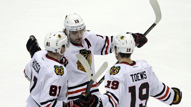 A lot to like about first part for Blackhawks