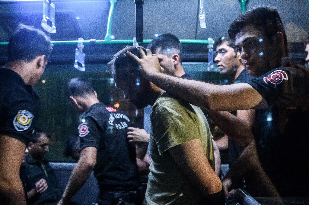 Turkey police torture detainees under post-coup emergency: HRW