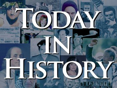 Today in History for September 13th