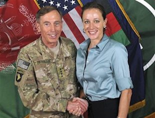 Gen. Petraeus and Paula Broadwell