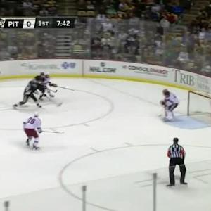 Mike Smith Save on Brandon Sutter (12:19/1st)
