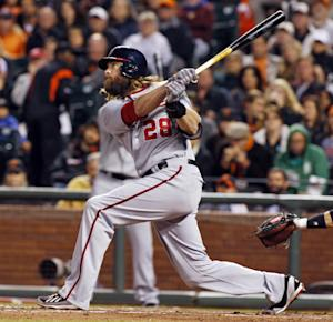 Nationals crack Cain early, beat Giants 6-2