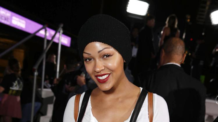 "Meagan Good seen at the World Premiere of Open Road's ""Justin Bieber's Believe"" presented by Teen Vogue and sponsored by Clearasil, on Wednesday, Dec. 18, 2013 in Los Angeles. (Photo by Eric Charbonneau/Invision for Open Road Films/AP Images)"