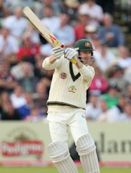 Michael Clarke scored a stunning double-hundred for Australia