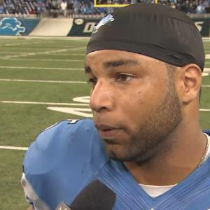 Detroit Lions wide receiver Golden Tate: 'We stepped up big, when we had to'