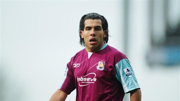 Carlos Tevez playing for West Ham (Reuters)