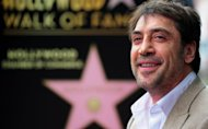 Actor Javier Bardem, pictured during a ceremony unveiling his Star on the Hollywood Walk of Fame, on November 8, in Hollywood, California. Considered one of Spain's greatest exports, Bardem received the 2,484th Star on the Walk of Fame in the Motion Pictures category