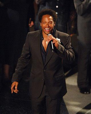 "Gary Dourdan performing ""The Jeffersons"" Emmy Awards - 9/18/2005"