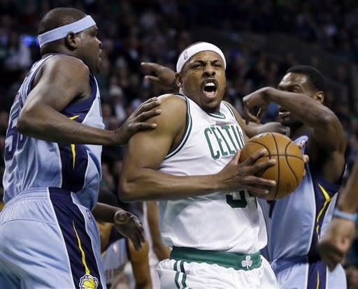 Conley, Grizzlies hold off Celtics 93-83