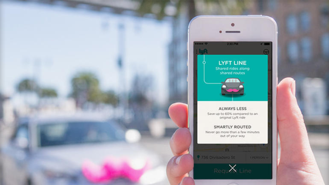 Lyft began testing a carpool feature called Lyft Line in San Francisco in August.