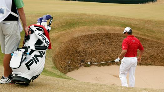 Westwood's Open hopes dashed by Mickelson