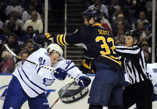 Ott lifts Sabres to 5-4 SO win over Maple Leafs