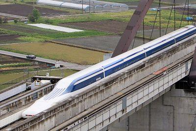 A Japanese train just broke the world's speed record