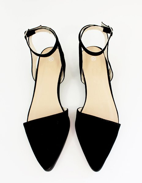 Pointy ankle strap flats, $68 at Pixie Market