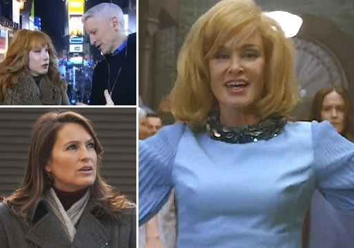 Did Horror Story Out-Sing Mad Men? SVU Love Mystery? Is CNN's NYE Joke Old? And More Qs!