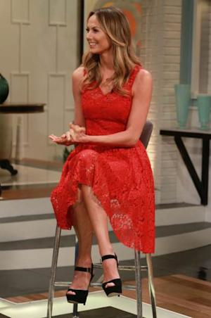 Stacy Keibler stops by Access Hollywood Live on June 19, 2013 -- Access Hollywood