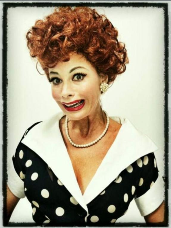 Sofia Vergara Posts Photo As Lucille Ball