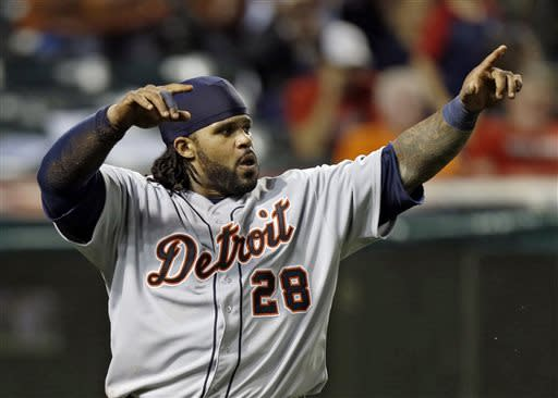 Martinez, Tigers beat Indians 4-2 in 10 innings