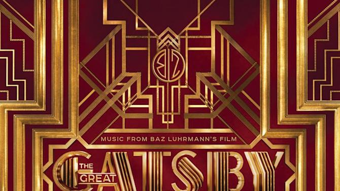 """This CD cover image released by Interscope Records shows the soundtrack from the film """"The Great Gatsby."""" (AP Photo/Interscope Records)"""