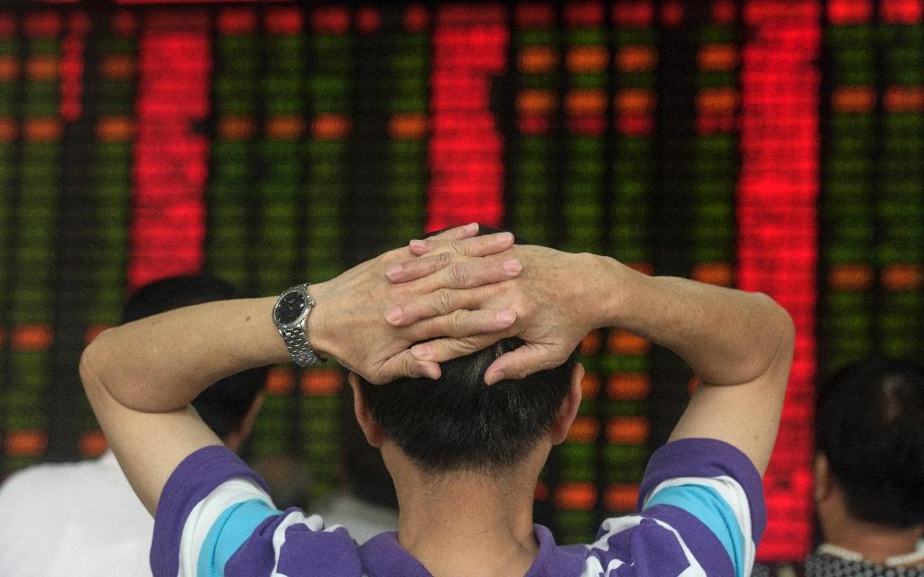 World markets extend losses as China falters again