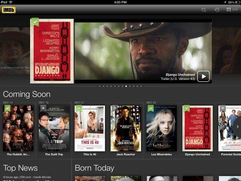 IMDb's iOS and Android Apps Have Now Been Downloaded More Than 50 Million Times