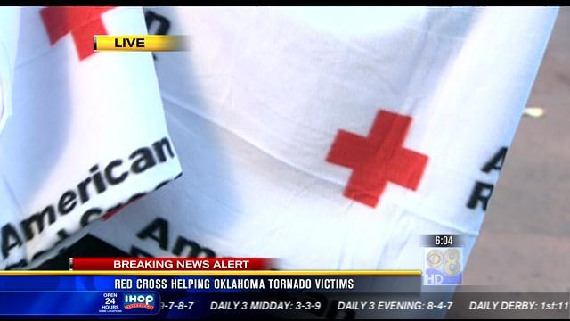 Red Cross helping Oklahoma tornado victims